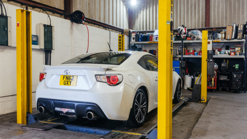 GT86 Drift Limits Performance servicing alignment track