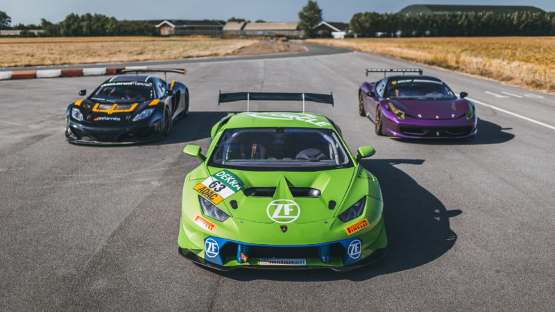 Trio of Race Cars from Drift Limits