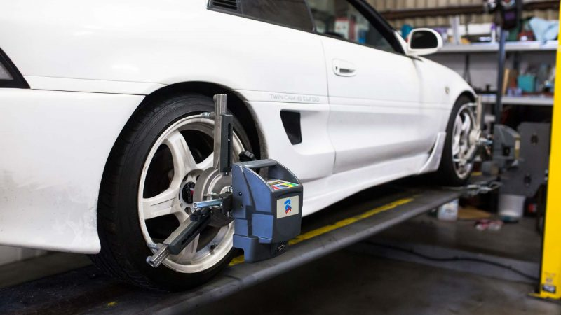 Drift Alignment Geometry MR2 Drift Track set up